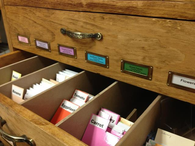 Somers Seed Library Cabinet