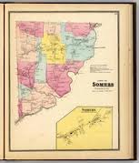 Historical Map of Somers